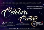 Celebra Central será realizado no próximo sábado 28/11